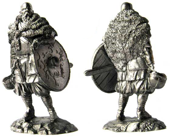 Jarl, 9-11 centuries; 54 mm