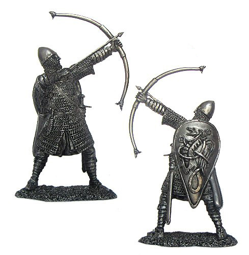 Norman archer, XI century; 54 mm