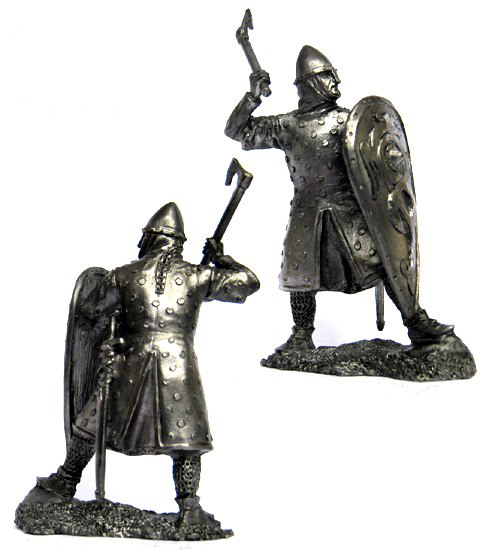Norman Knight, IX-XI century; 54 mm