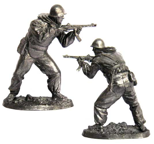Soldier Assault Engineering sapper Brigades, USSR 1943-1945; 54 mm