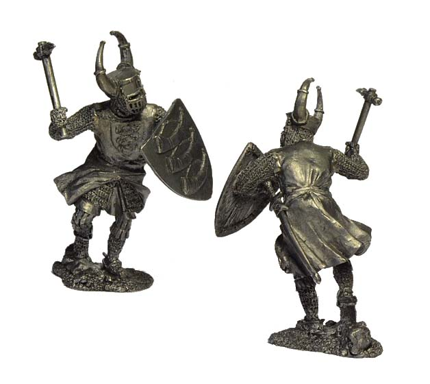 German Knight, 12th century; 54 mm