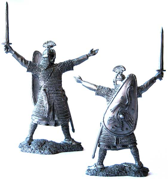 Anglo-Saxon Earl, 9-11 centuries; 54 mm