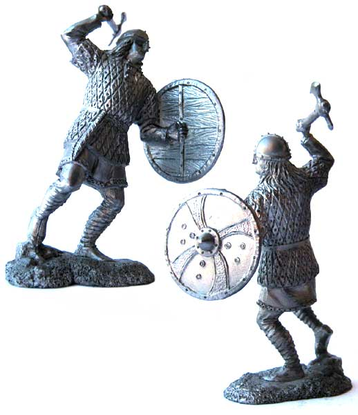 Anglo-Saxon thegn, 9-11 centuries; 54 mm