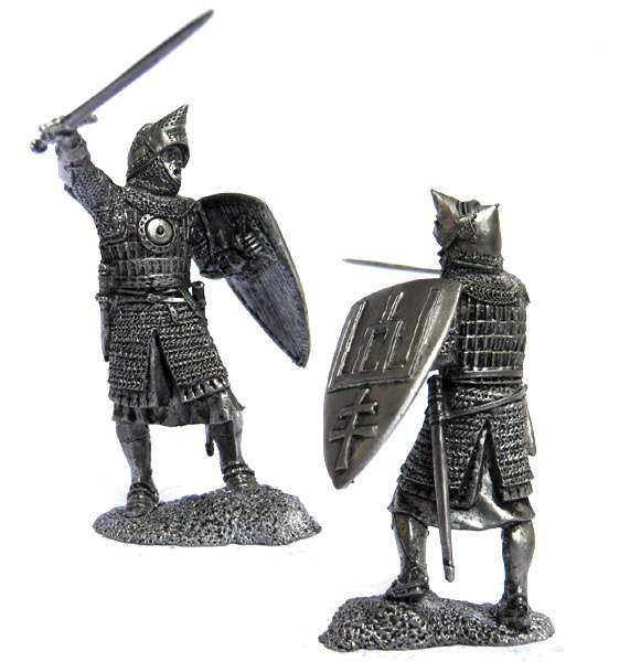 Knight of the Grand Duchy of Lithuania, 14-15 cc; 54 mm