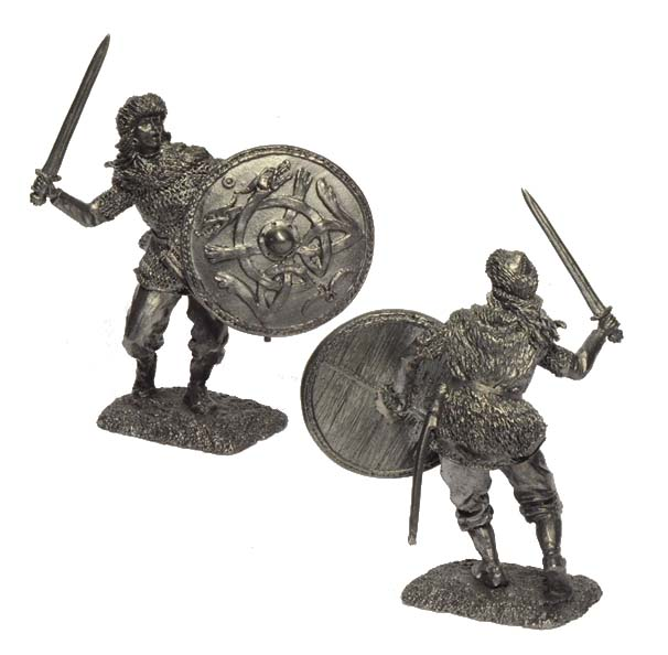 Warrioress, 9-11 centuries; 54 mm