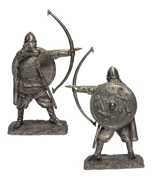 Viking archer 9-11 centuries; 54 mm