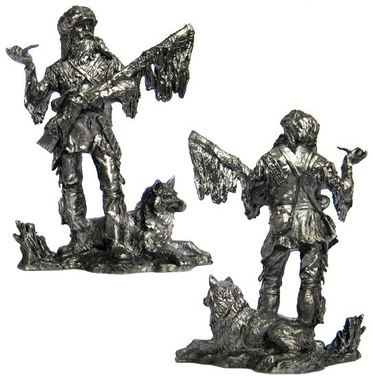 American trapper, 18-19 cc; 54 mm