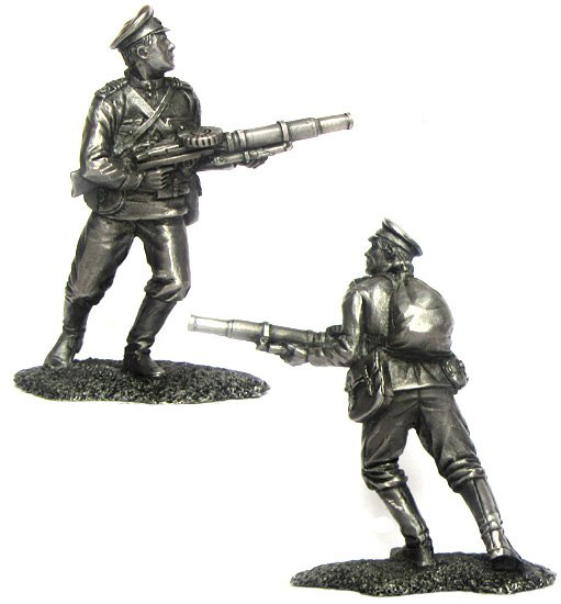 Senior non-commissioned officer, Russia, 1914; 54 mm