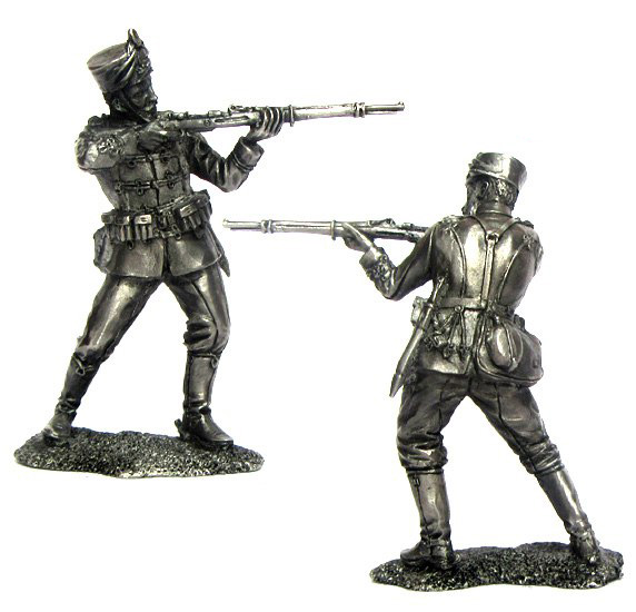 Private 17 Hussars, Germany, 1914; 54 mm