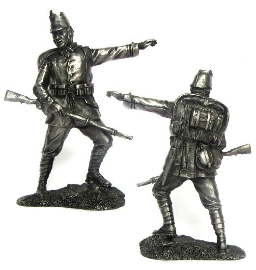 NCO 10 Jaeger Regiment, Germany, 1914; 54 mm