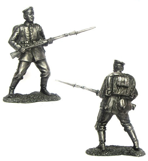 Private infantry regiment, Germany, 1914; 54 mm