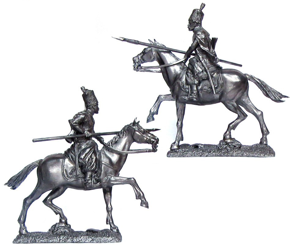 Don Cossack, Russia, 1780-90; 54 mm