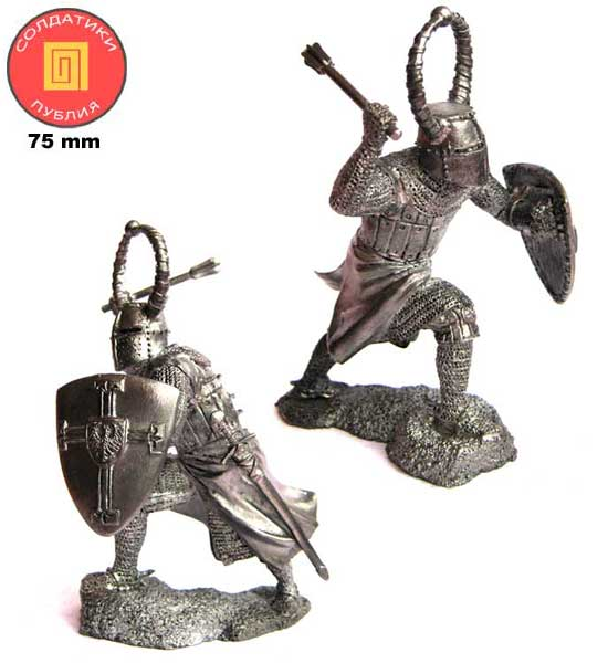 Knight of the Teutonic Order, 13th century; 75 mm