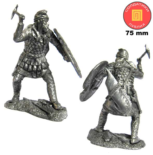 "The Persian warrior is ""immortal"", 5th century BC; 75 mm"
