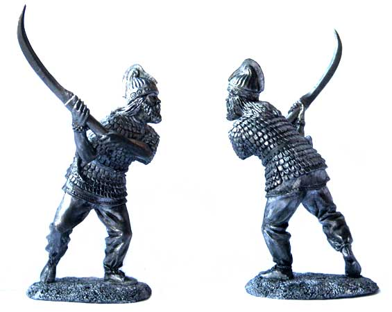 Dacia warrior, 1-2 centuries AD; 54 mm