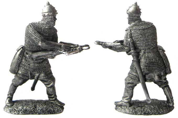 Russian Crossbowman, 14th century; 54 mm