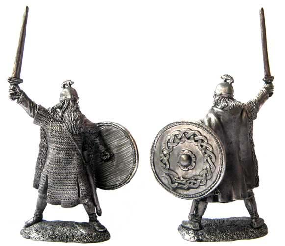 Jarl, 9-10 centuries; 54 mm