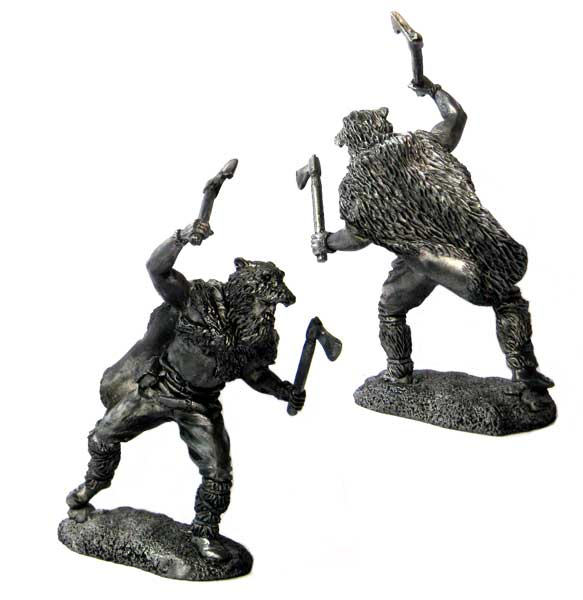 Berserker, 9-10 centuries; 54 mm