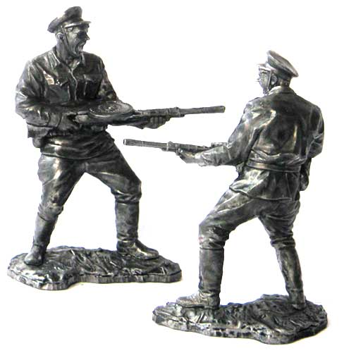 Private NKVD troops, 1941-43; 54 mm