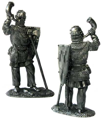 Swedish knight, 13th century; 54 mm