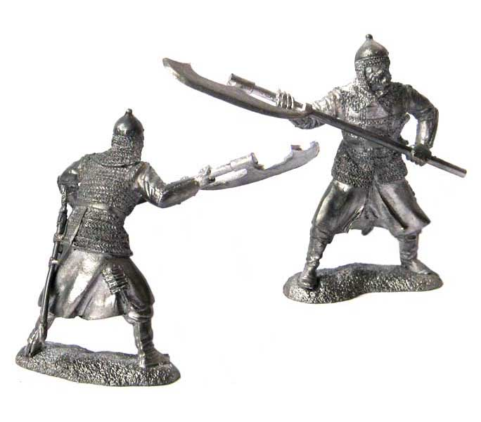 Moscow Strelets (musketeer), 16-17 centuries; 54 mm
