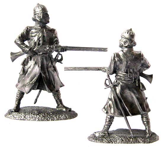 Gorodovoy Strelets, Russia 16-17 centuries; 54 mm