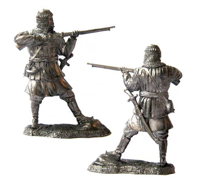 Tatar warrior, 16-17 centuries; 54 mm