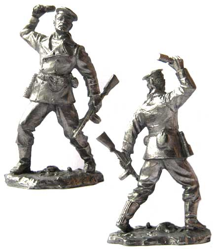 Sailor Naval infantry, USSR 1940-43; 54 mm