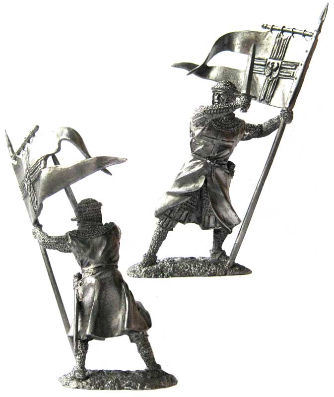 Standard Bearer of the Teutonic Order, 13th century; 54 mm
