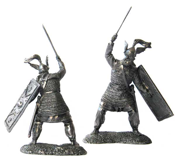 Germanic leader, 9 year AD; 54 mm