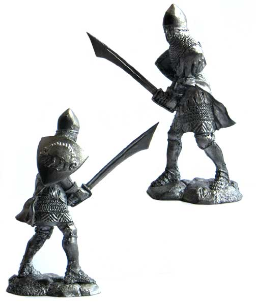 Knight-guest of the Teutonic Order, 14th century; 54 mm