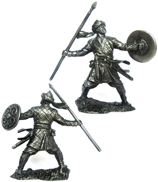 Saracen warrior, XII century; 54 mm