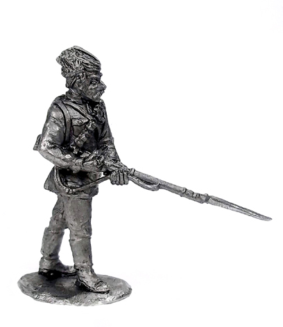 Red Army soldier. Soviet Russia, 1917-1922; 28 mm