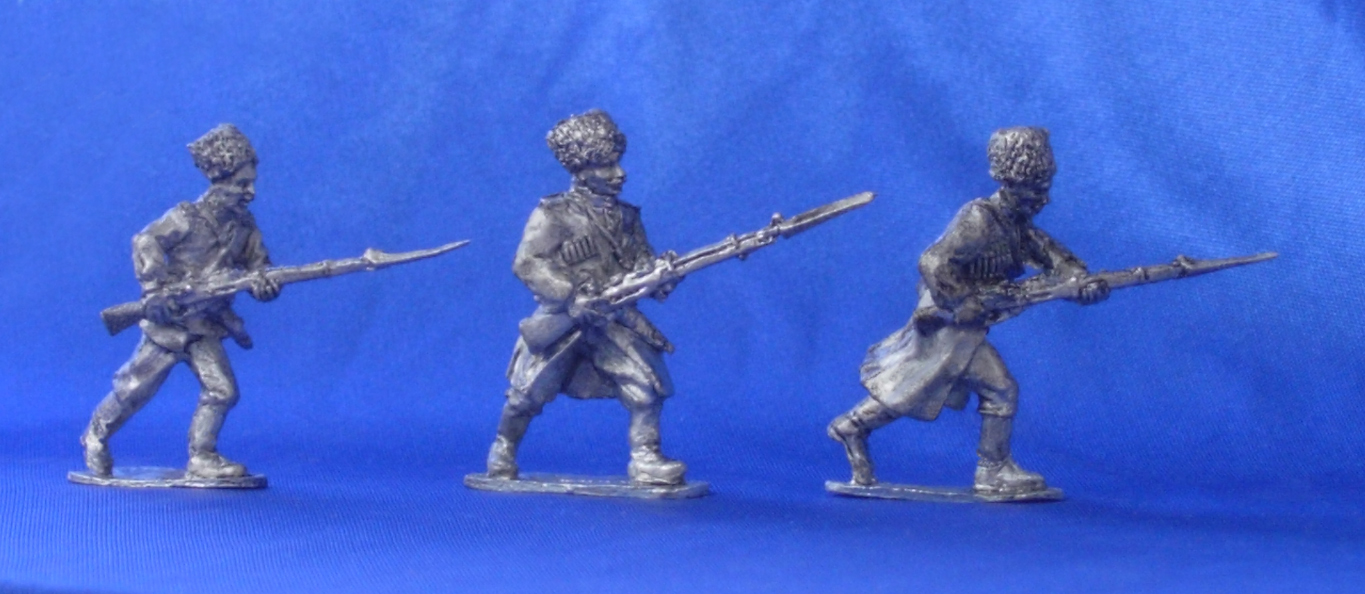 Plastun. Kuban Cossack foot scouting and sentry military unit. 1914-1920; 28 mm