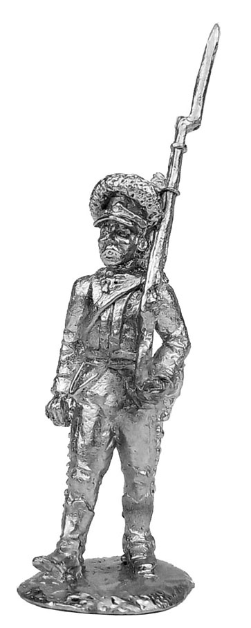 Private soldier (1). Russia, 1786-96; 28 mm