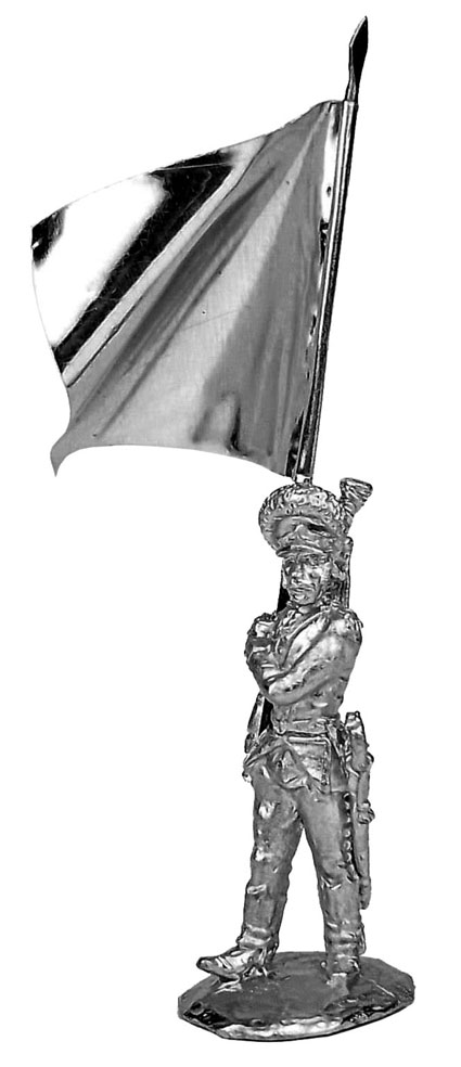 Standard bearer. Russia, 1786-96; 28 mm