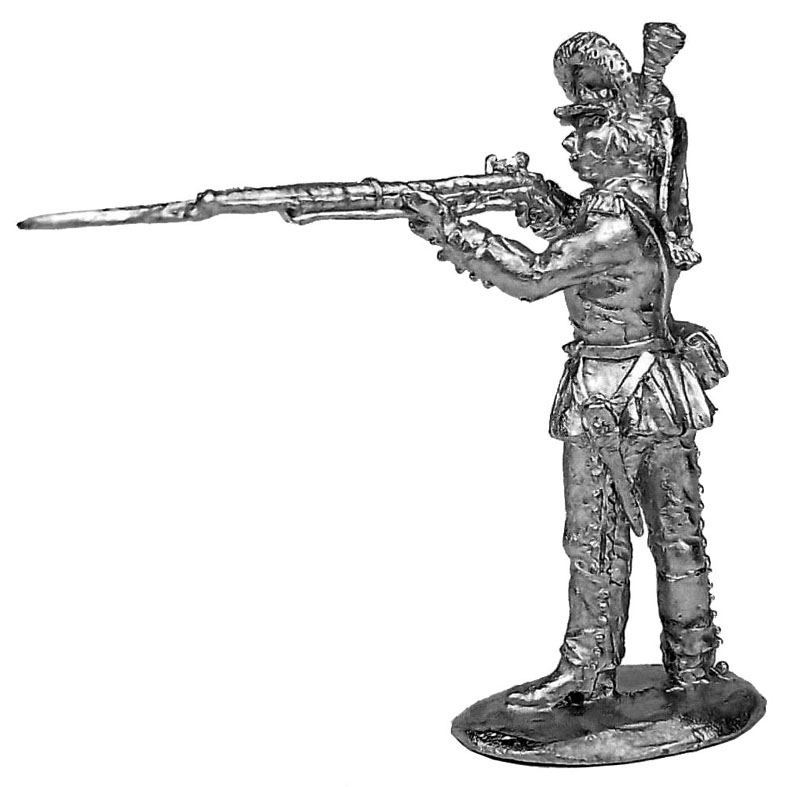 Private soldier (2). Russia, 1786-96; 28 mm