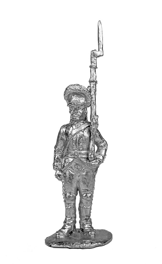 Private soldier (4). Russia, 1786-96; 28 mm