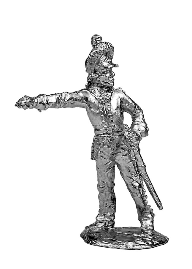 Officer. Russia, 1786-96; 28 mm