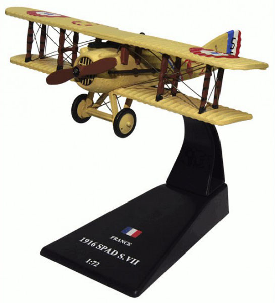 SPAD S.VII - French fighter; 1/72