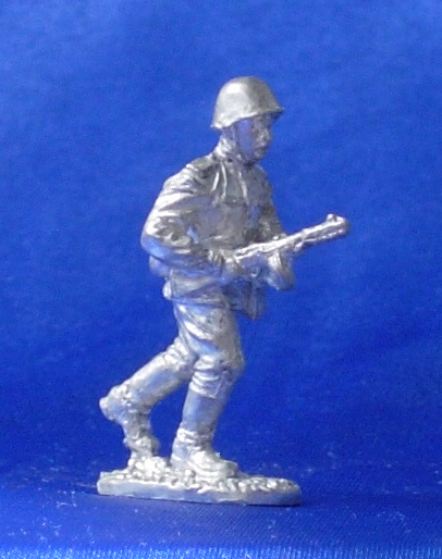 Soviet machine gunner, 1943-1945; 28 mm