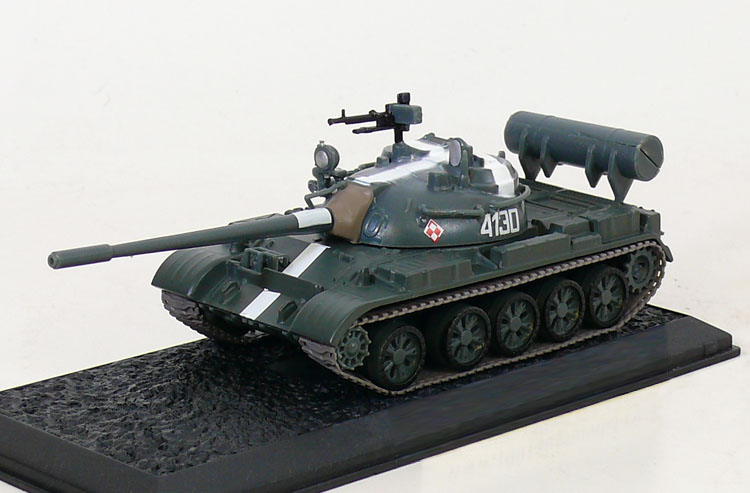 T-55A - main battle tanks; 1/72