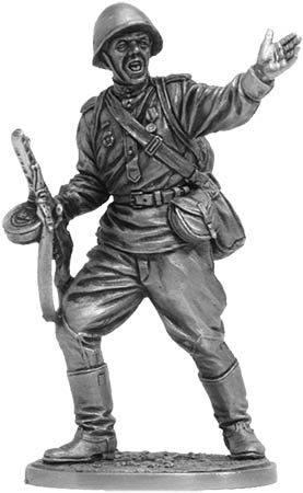Private soldier of the Guards infantry. USSR, 1943-45; 54 mm