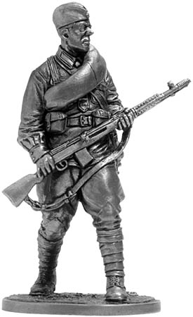 Private rifle units of the Red Army. The USSR, 1941-43; 54 mm