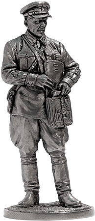 Politruk (Political instructor), infantry of the Red Army. 1939-42, USSR; 54 mm