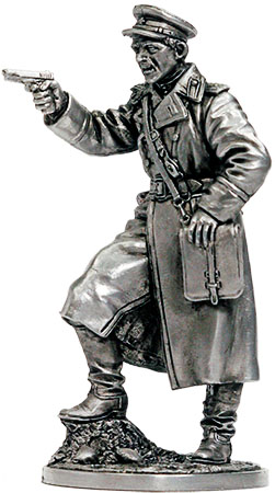 Senior lieutenant of the Red Army, 1943-45, USSR; 54 mm