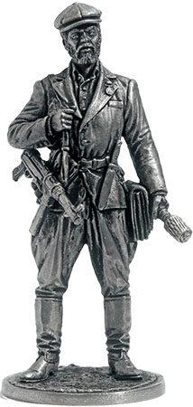 Soviet partisan. 1941-44, USSR; 54 mm