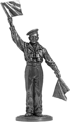 Sailor-signalman Navy. USSR, 1941-45; 54 mm