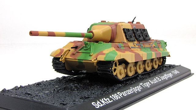 Sd.Kfz.186 Jagdtiger - German tank destroyer; 1/72