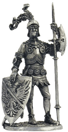 Bertrand du Guesclin, Constable of France, died 1380; 54 mm